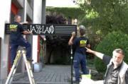 JAZZLAND 2013  NEUES SCHILD